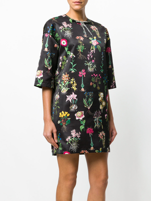 N°21 Floral Party Shift Dresses