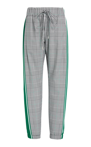 Monse Glen Plaid Jogger Pant Pants