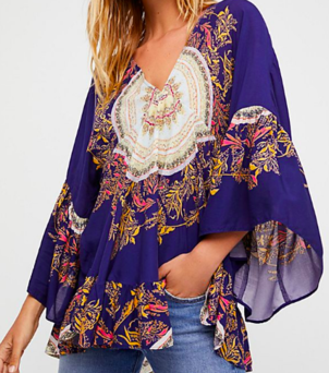 Free People Sunset Dreams Top Tops