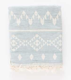 Fleece Lined Kilim Throw (More Colors) Home decor