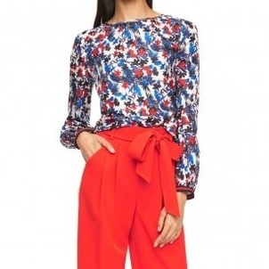 Milly Hibiscus Mandy Top Tops