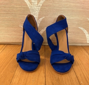Ulla Johnson Romie High Heel Cobalt (originally $450) Sale Shoes