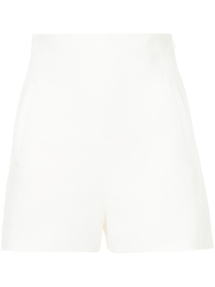 Rosetta Getty High Waist Shorts Chalk Pants