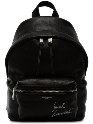 Saint Laurent Mini Leather Backpack Bags