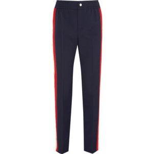 Gucci Web Detail Legging Pants