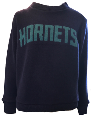 The Elder Statesman Hornets Purple Sweatshirt