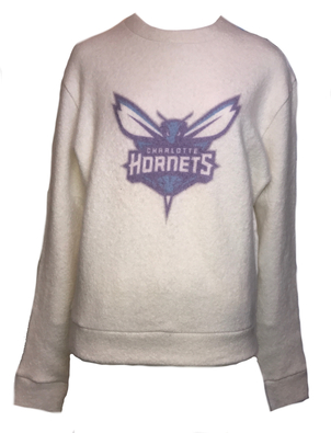 The Elder Statesman Hornets Felted Sweatshirt