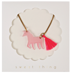 Meri Meri Unicorn Necklace Kids