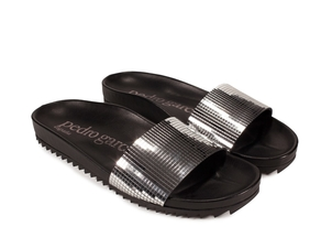 Pedro García 'Disco Ball' Spa Slide - (originally $450.) Sale Shoes