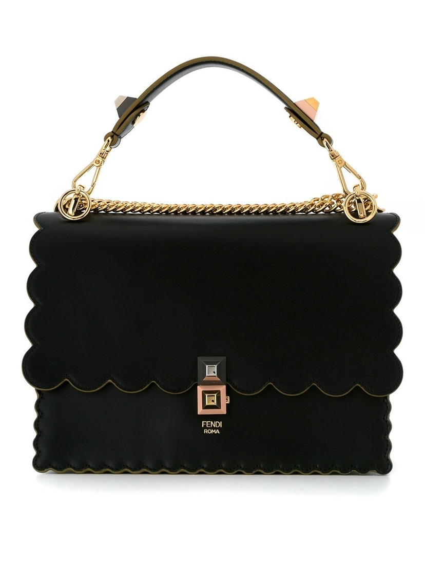 Fendi Kan I Shoulder Bag Bags