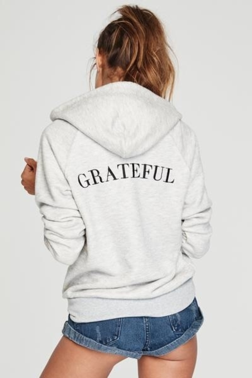 Spiritual Gangster Grateful Hoodie Activewear Tops