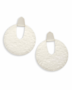 Kendra Scott Diane Earrings Silver Jewerly