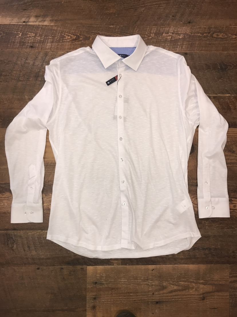 Stone Rose Flame Knit Button Down Tops