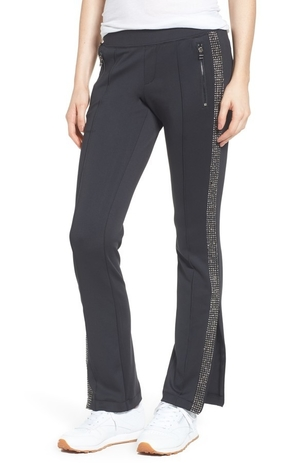 Pam & Gela Rhinestone Side Stripe Pant Pants