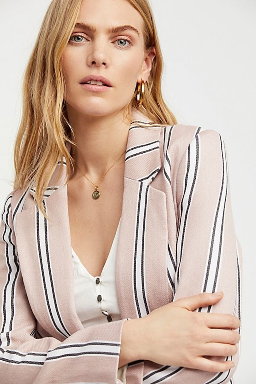 Free People Uptown Girl Blazer Outerwear
