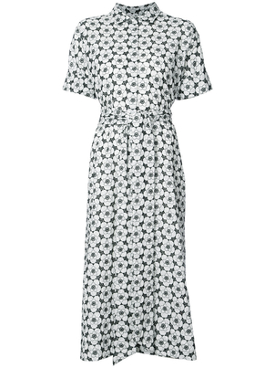 Lisa Marie Fernandez Poppy Eyelet Shirt Dress Dresses