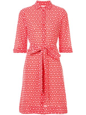 Lisa Marie Fernandez Daisy Eyelet Shirt Dress Dresses