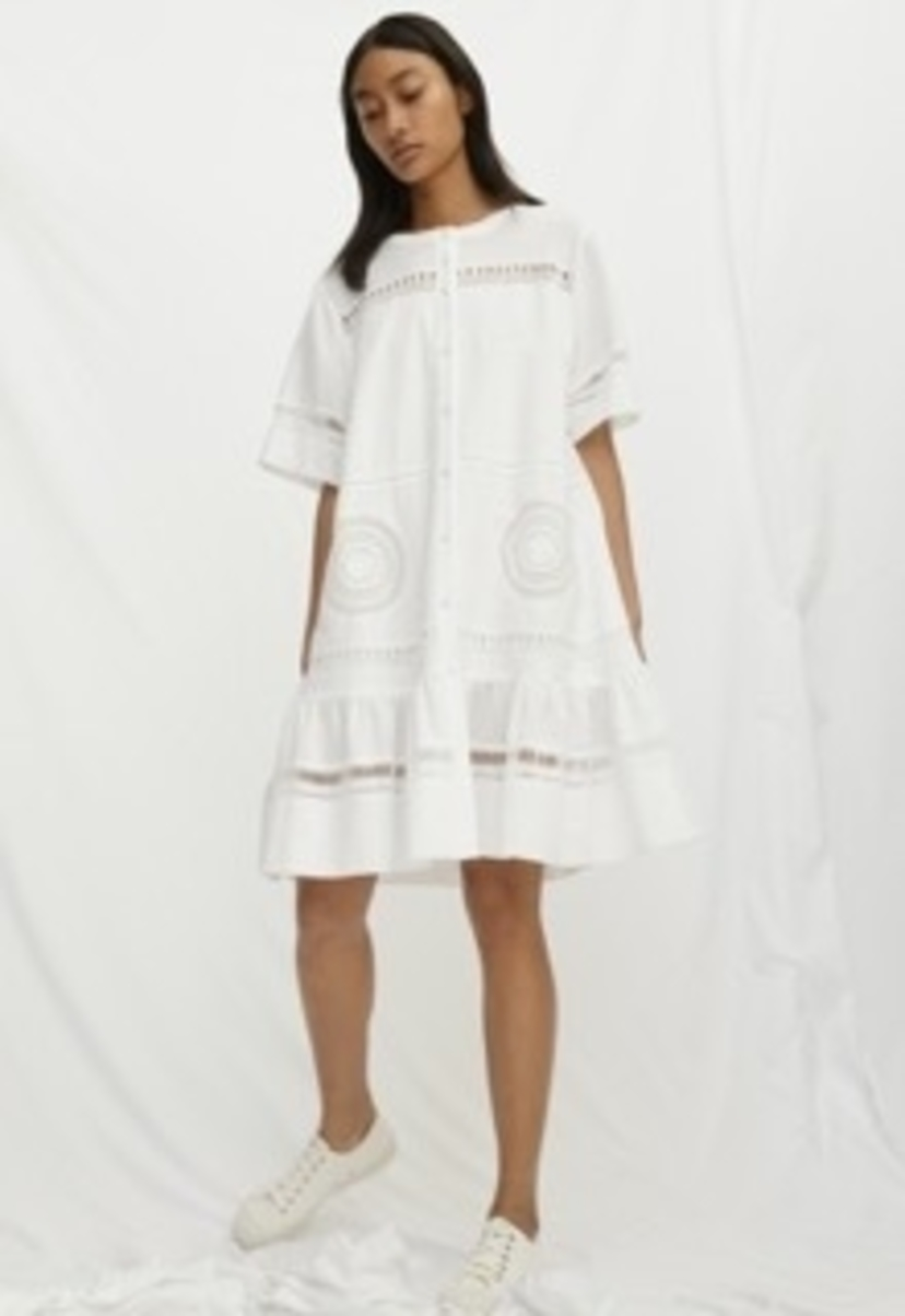 M.i.h Jeans MIH KIRBY DRESS WHITE Dresses