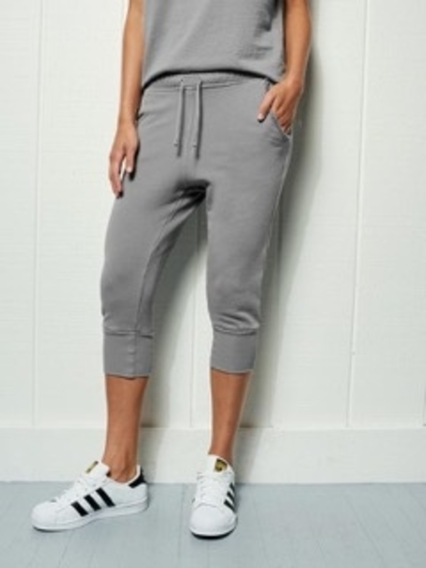 FRANK AND EILEEN SUPER CROP SWEATPANT SHADOW Pants