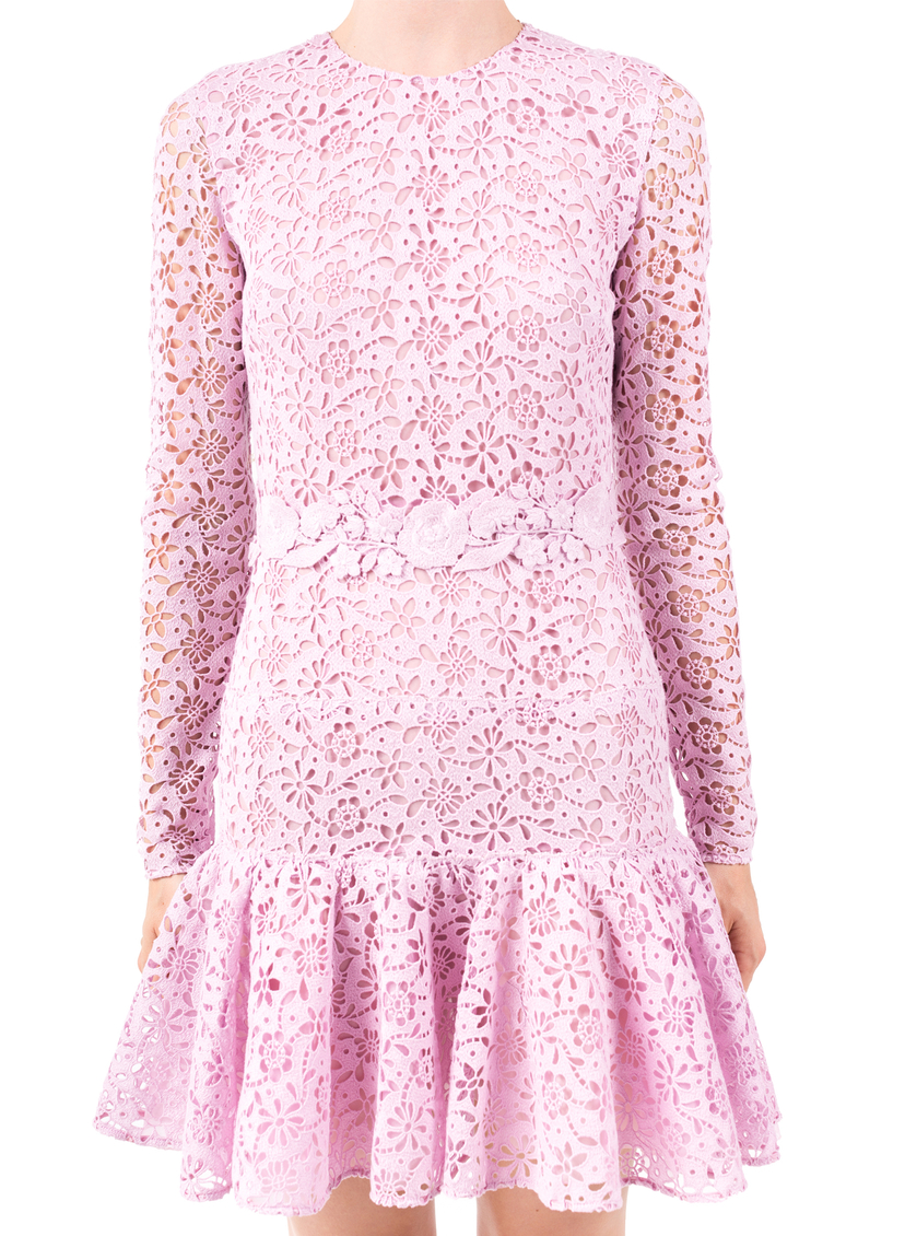Giambattista Valli Rose Lace Dress Dresses