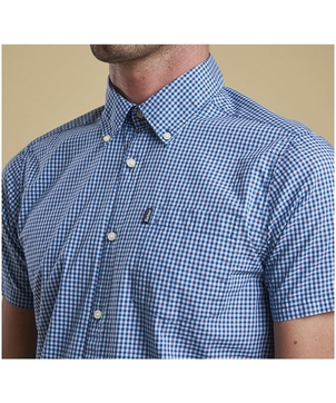 Barbour Men's Hector Short Sleeve Button Down Tops