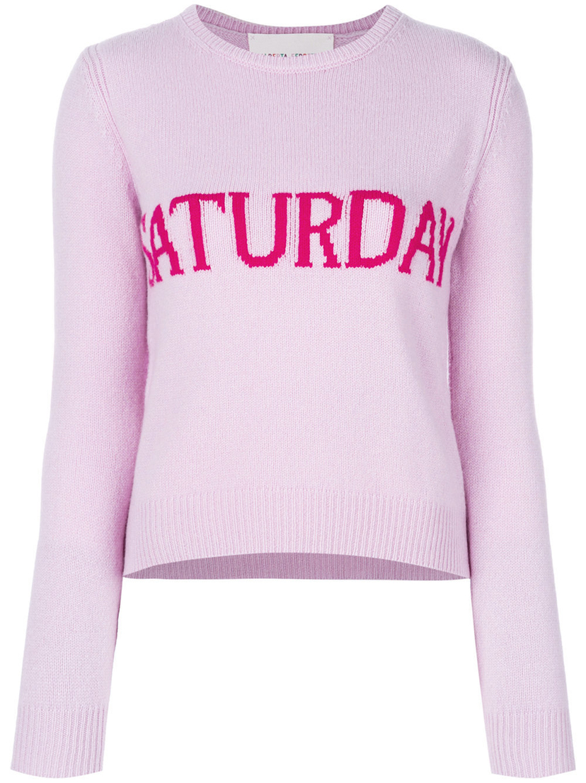 "Alberta Ferretti ""Saturday"" Sweater Tops"