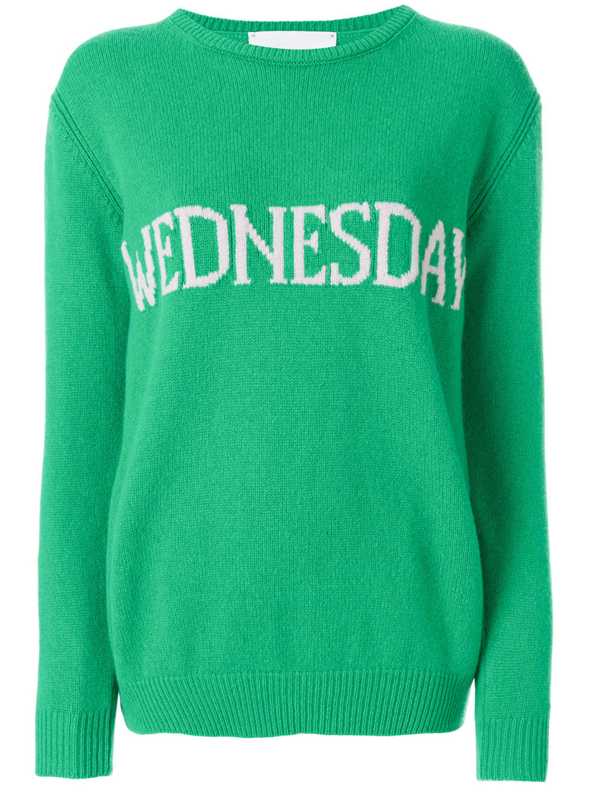"Alberta Ferretti ""Wednesday"" Sweater Tops"