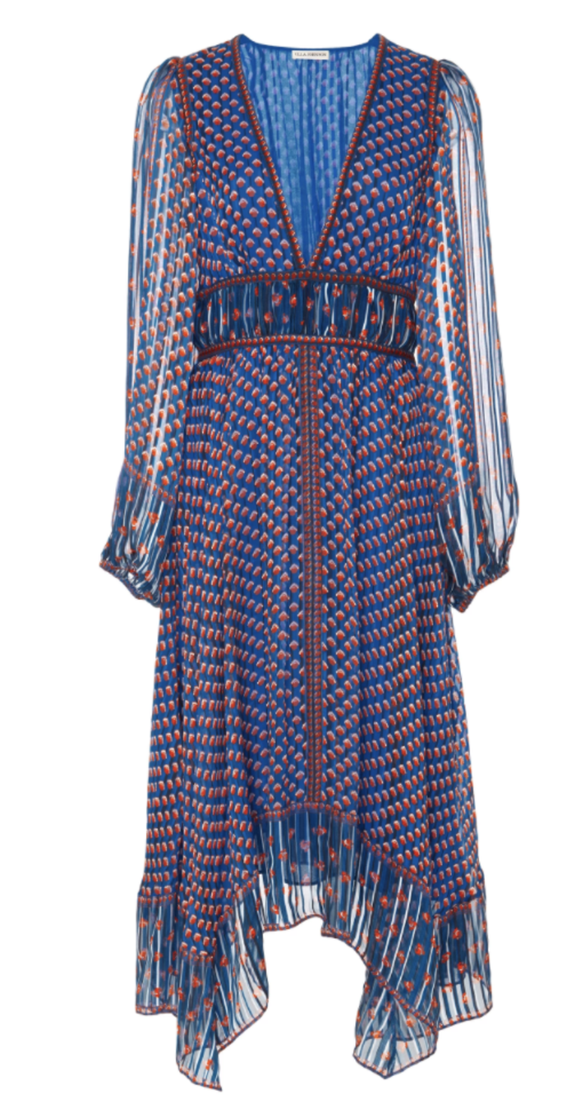 Ulla Johnson Amabelle Dress in Cerulean Dresses