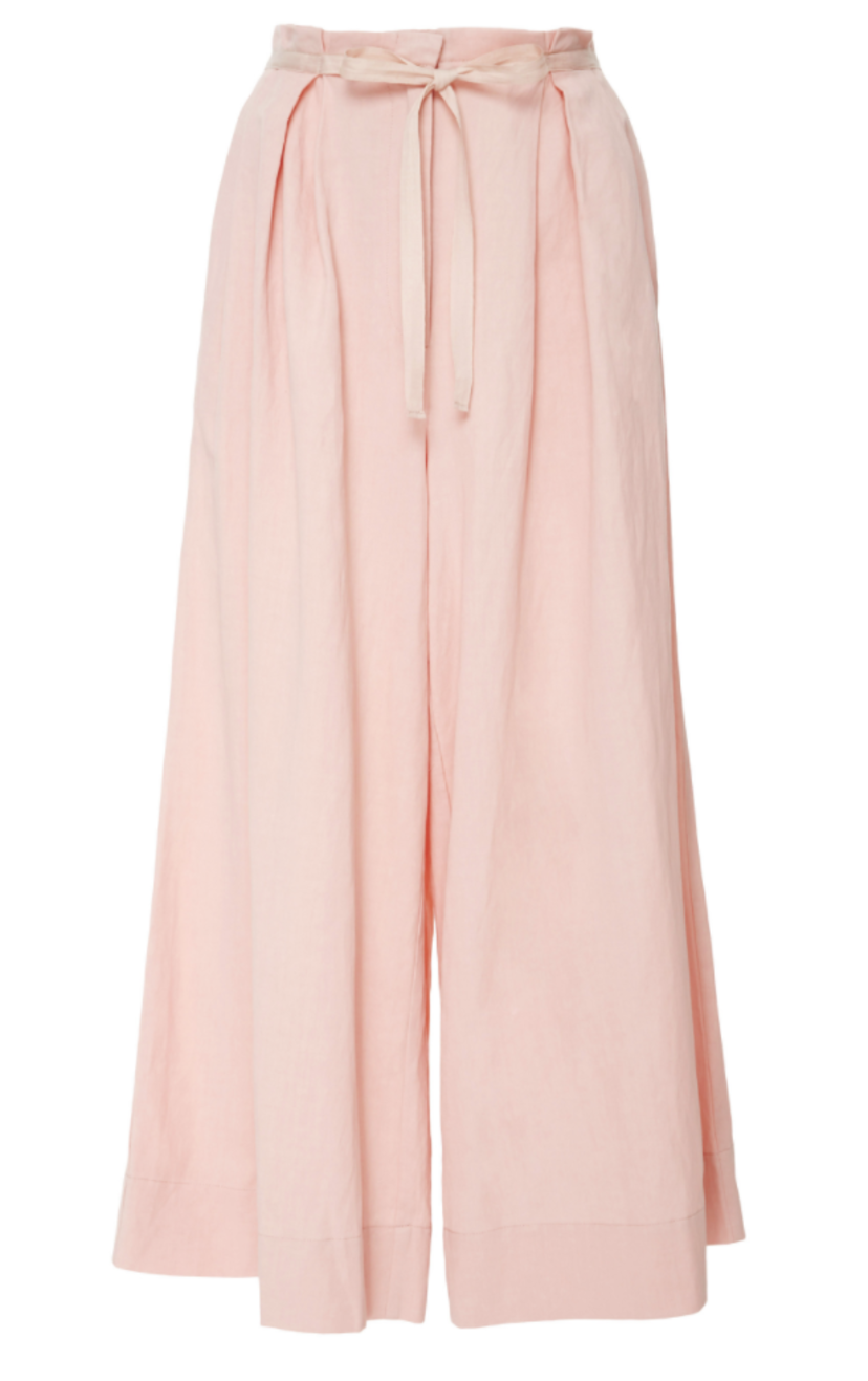 Ulla Johnson Sylvie Culotte in Rose Pants