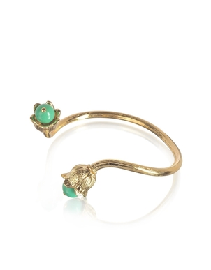 Aurélie Bidermann Lily of the Valley Bangle Jewelry