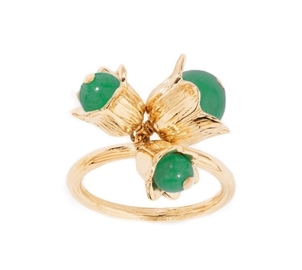 Aurélie Bidermann Lily of the Valley Ring Jewelry