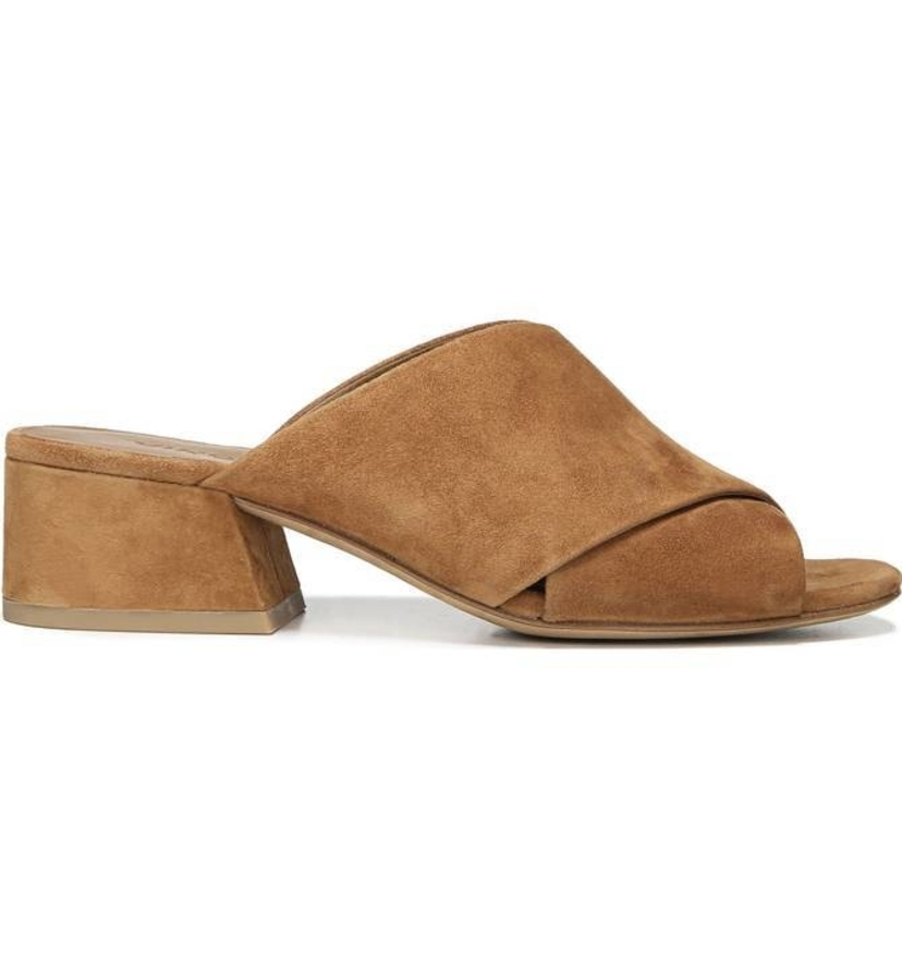 Vince Criss Cross Slide - Cedar Sale Shoes