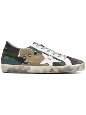 Golden Goose Deluxe Brand Superstar Sneakers in Camo Shoes