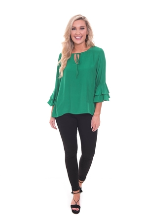 LaRoque Harlow Top Kelly Green Tops