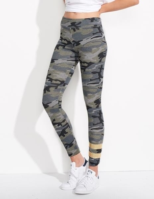 Sundry Stripes Camo Yoga Pant Pants