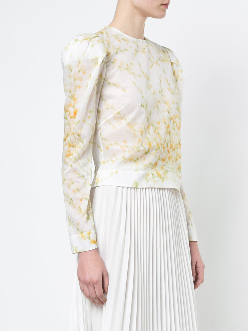 Brock Collection Babette Long Sleeve Blouse Tops