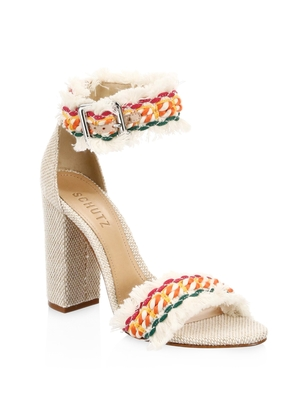 Schutz Zoola Block Heel Sandal Shoes