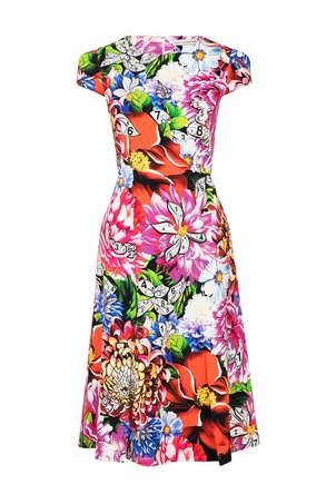 Mary Katrantzou Osmond Paint by Numbers Dress Dresses