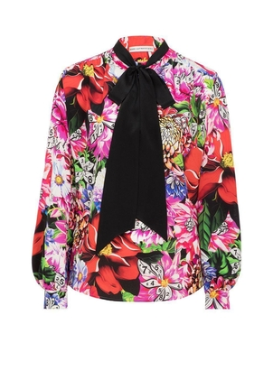 Mary Katrantzou Veddar Paint by Numbers Blouse Tops