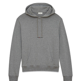 HOODIE WITH SAINT LAURENT SQUARE