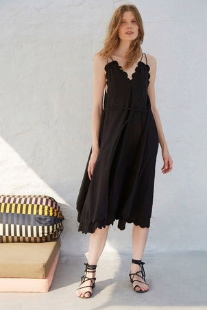 Apiece Apart Mirage Scallop Dress Dresses