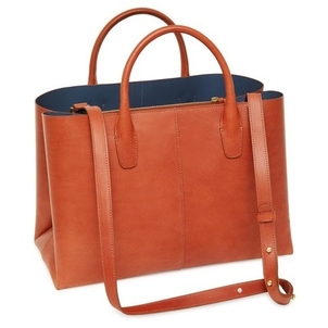 Mansur Gavriel MANSUR GAVRIEL TANNED FOLDED BAG BRANDY AVION Bags