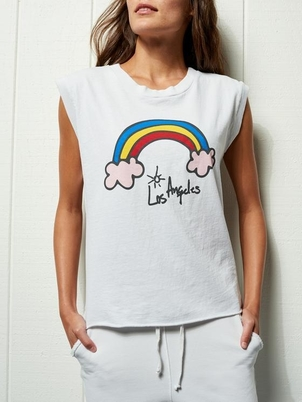 Tee Lab by Frank & Eileen Vintage Muscle Tank - LaLa Land Tops