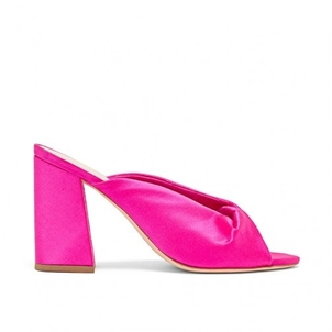 Loeffler Randall Laurel Mule in Fuchsia Shoes