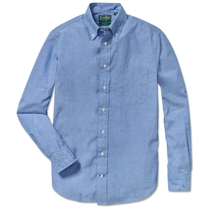 Gitman Vintage CHAMBRAY BUTTON DOWN SHIRT Men's