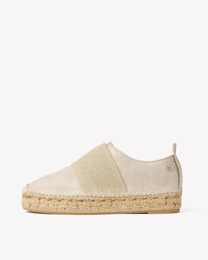 rag & bone RAG AND BONE NINA ESPADRILLE SMOKE SUEDE (originally $325) Sale Shoes