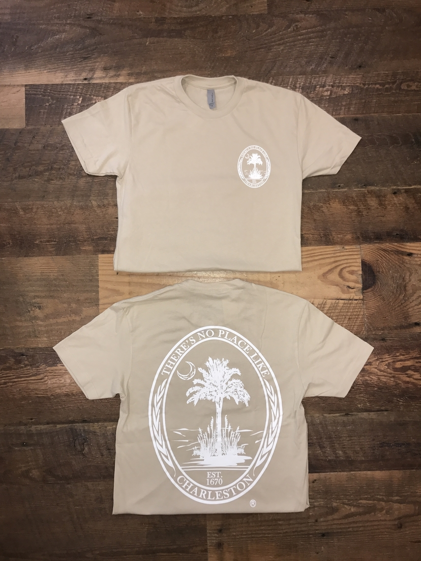 Next Level There's No Place Like Charleston Tee (Assorted Colors) Tops