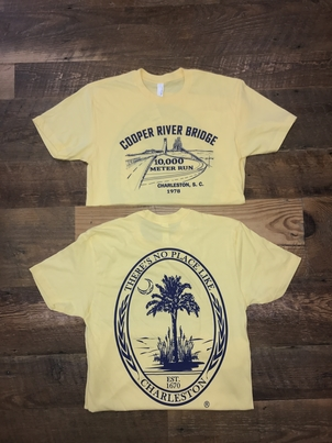 Next Level Cooper River Bridge Tee Tops