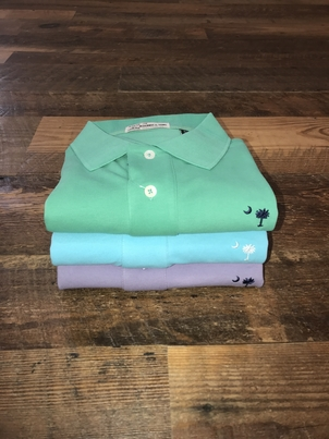 M. Dumas & Sons M Dumas & Son's 3 Button Short Sleeve Polo Tops