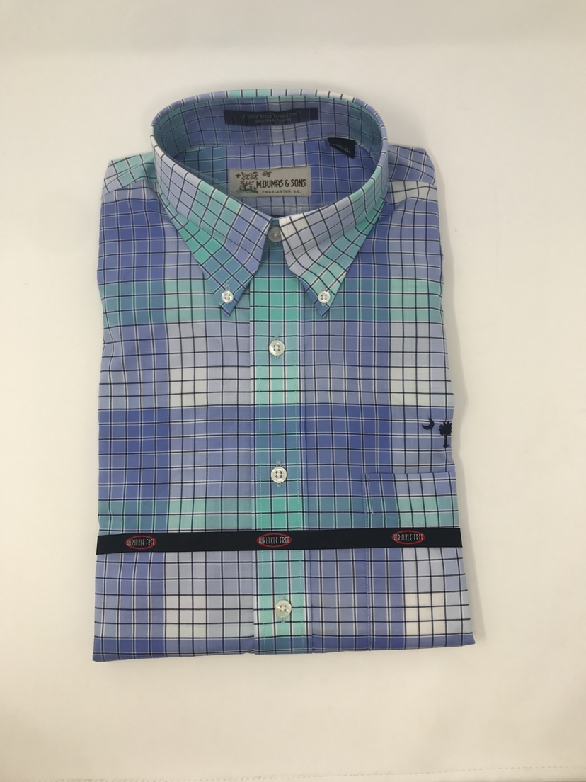 M. Dumas & Sons Dumas & Son's Wrinkle Free Button Down Tops